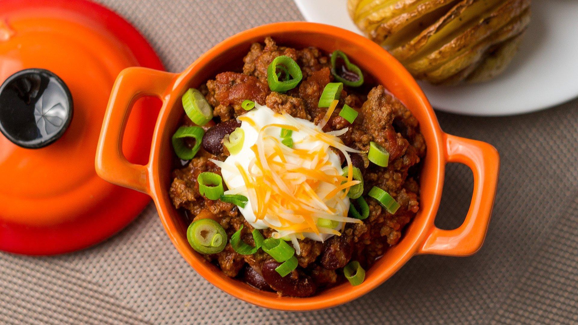Beef Chili Recipe - ChichiLicious.com