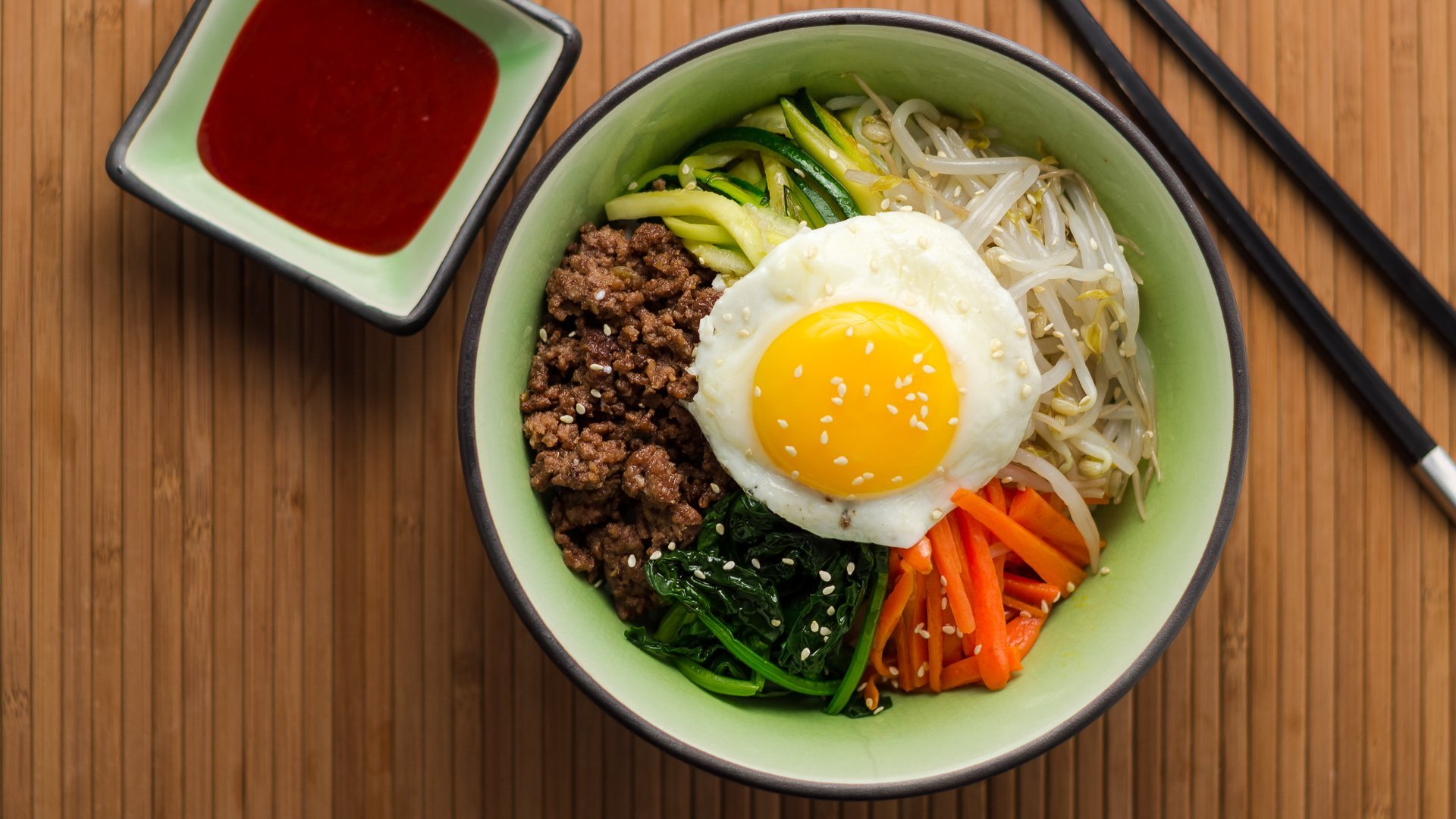 Bibimbap is a popular Korean dish, it literally means mixed rice. It ...