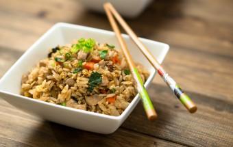 Chicken Basil Fried Rice Recipe