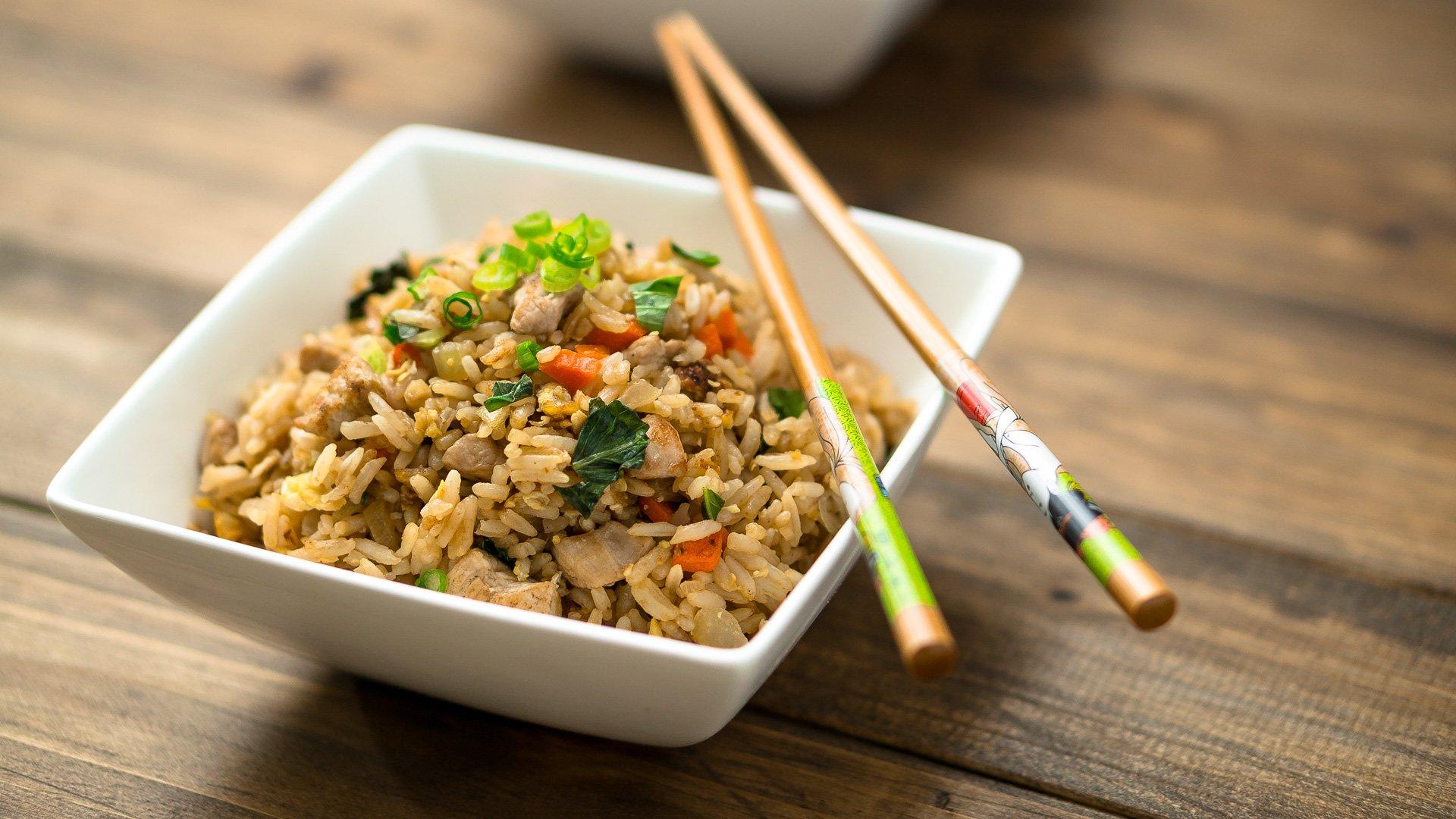 Basil Fried Rice Recipe - ChichiLicious.com