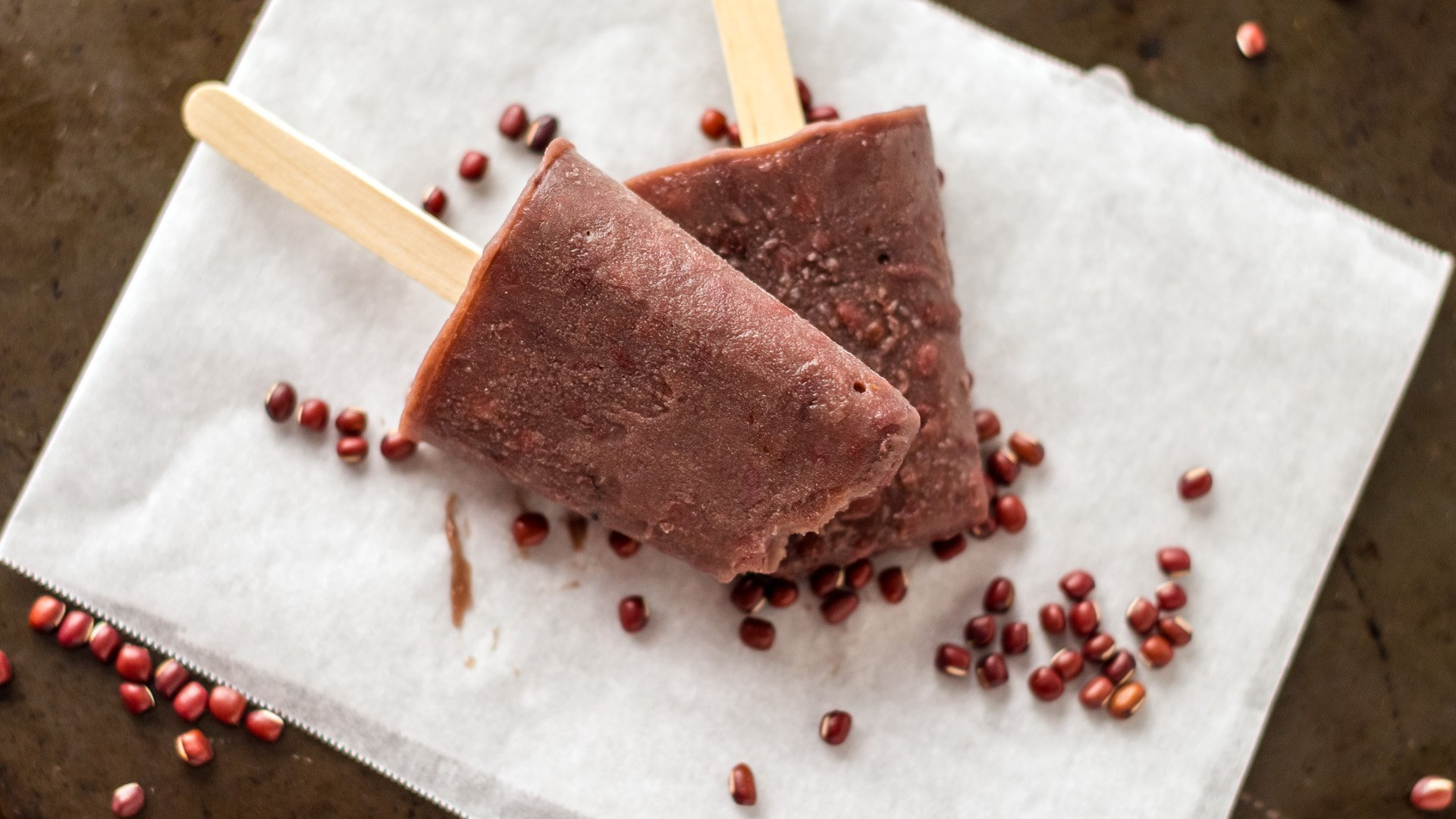 red bean popsicles red bean ice bar it red bean yogurt ice pop recipe ...